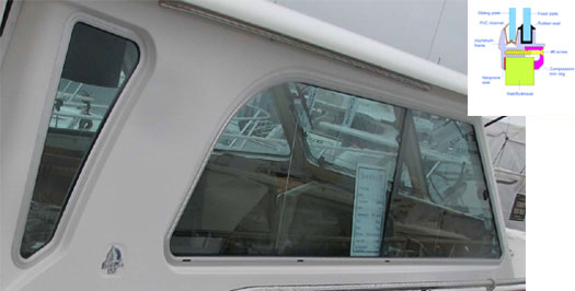 Bomon Marine Boat Window Replacement Marine Windows
